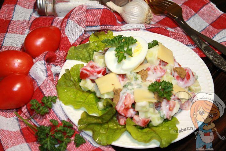 Кето салат, рецепт с фото