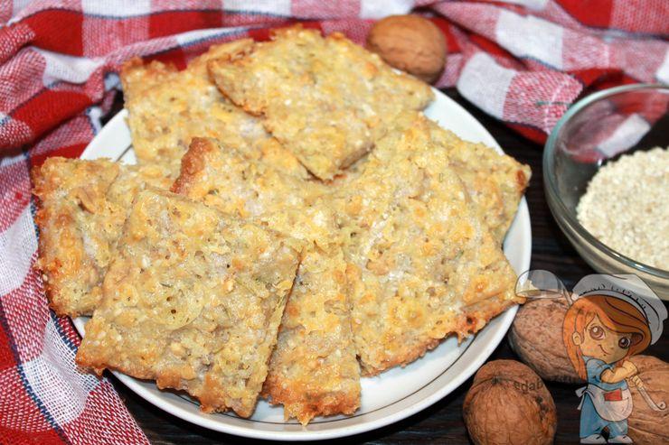 Кето крекеры, рецепт с фото