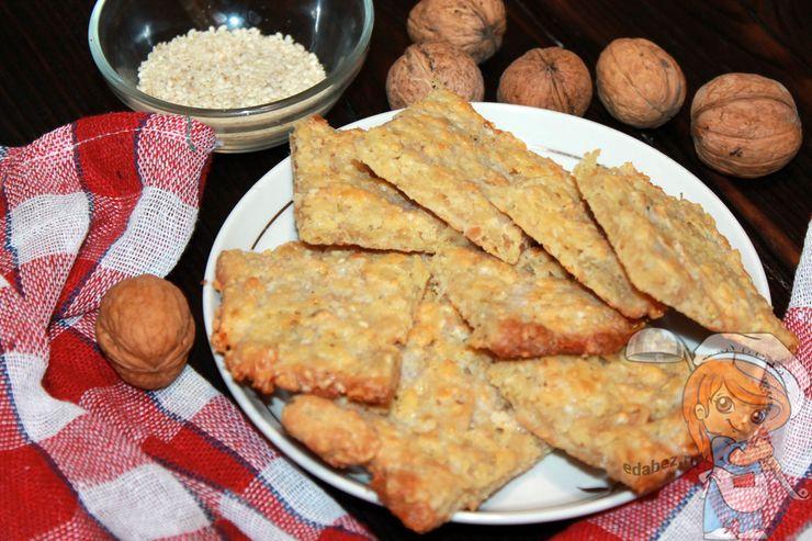 Кето крекеры, пп рецепт