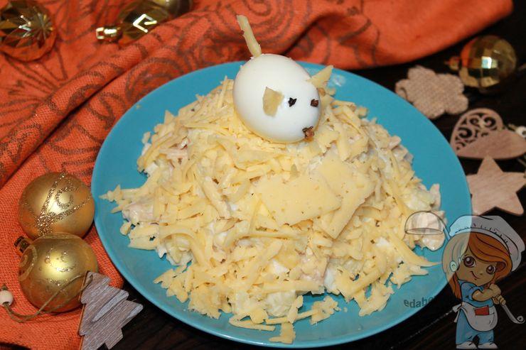салат мышкина радость, рецепт с фото