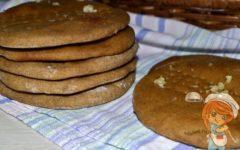 финские ржаные лепешки, рецепт с фото
