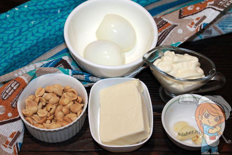 продукты для приготовления закуски