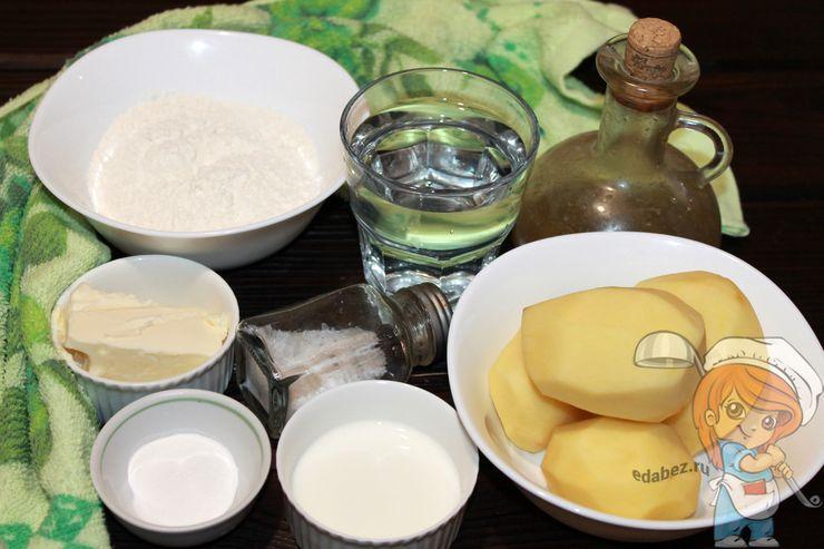 Ингредиенты для сконов