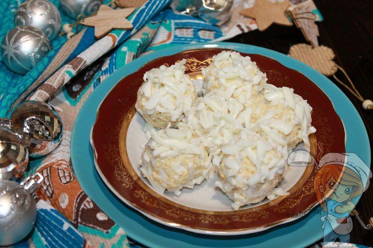 Закуска в виде шариков