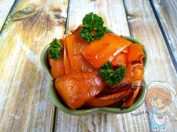 Перекладываем вегетарианский лосось в миску