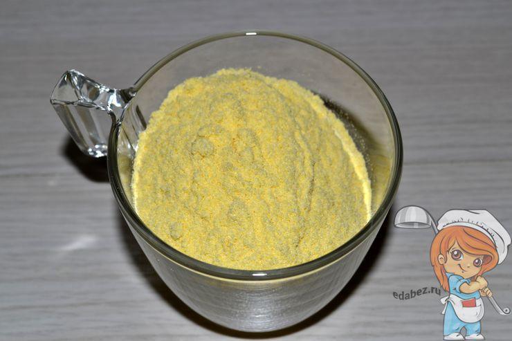 Кукурузная крупа для поленты