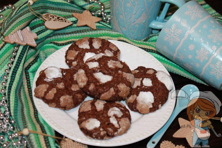 Рождественское печенье, рецепт с фото