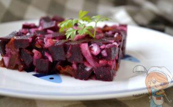 Салат из свеклы, рецепт с фото