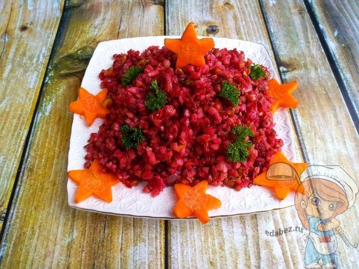 Красная гречка со свеклой для похудения