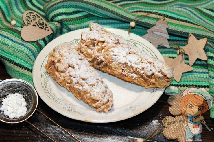 Десерт шишки без выпечки, рецепт с фото