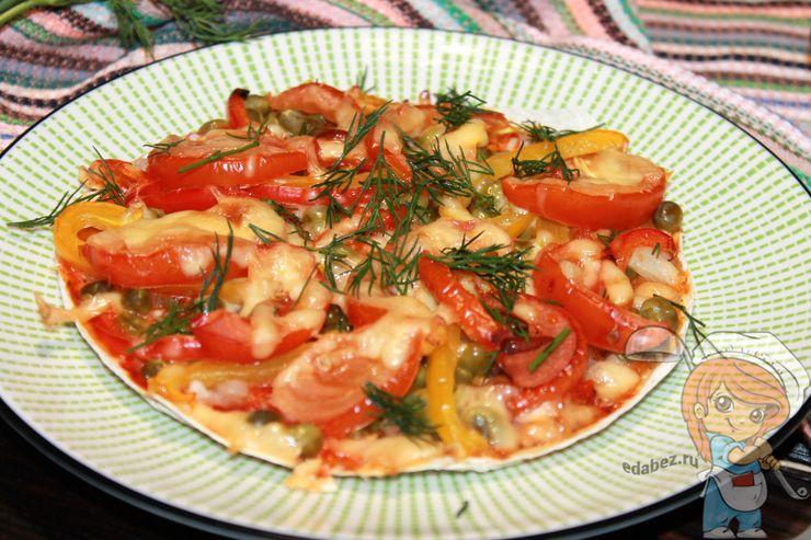Рецепт как приготовить пиццу на лаваше. Рецепт с фото