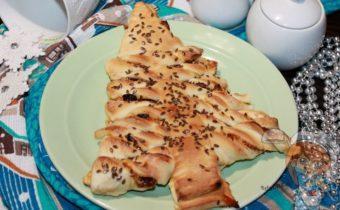 Рождественский пирог с сухофруктами