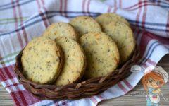 Апельсиновое печенье, рецепт с цедрой