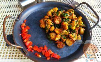 Чесночные грибы, рецепт с фото