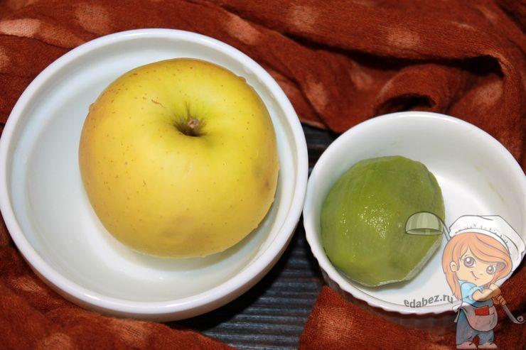 Моем и чистим фрукты