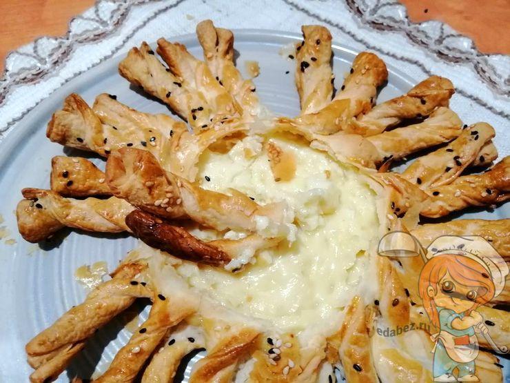 Сырное фондю, рецепт с фото