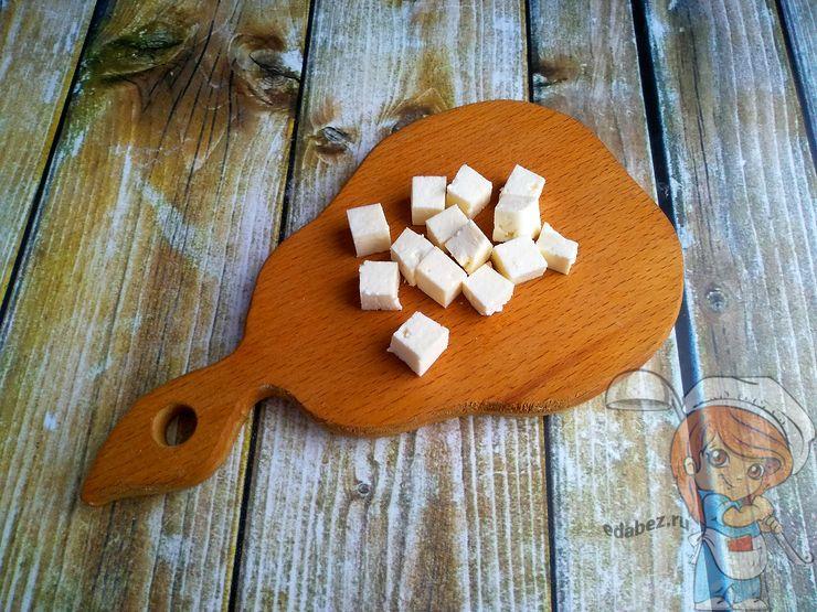 Добавляем тофу