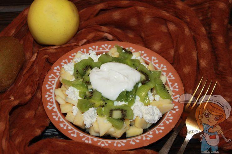 Салат с киви, рецепт с фото
