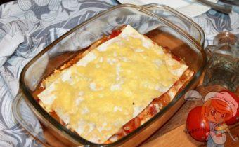 Лазанья из лаваша, рецепт в духовке