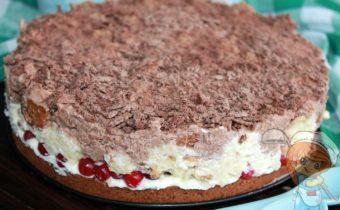 Торт с клюквой Ксюша