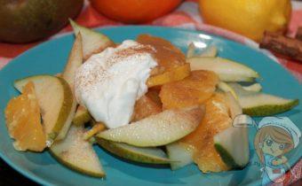 Фруктовый салат с апельсином, рецепт с фото
