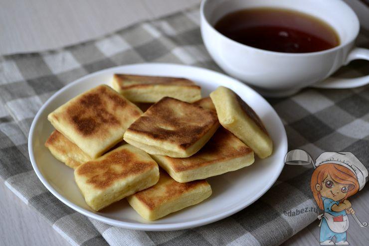Печенье без духовки, простой рецепт