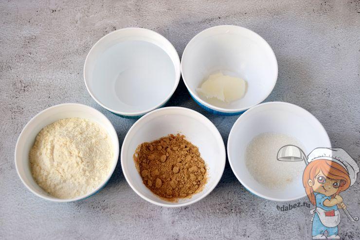 Ингредиенты для выпекания блинов