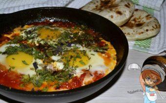 Шакшука - рецепт яичницы