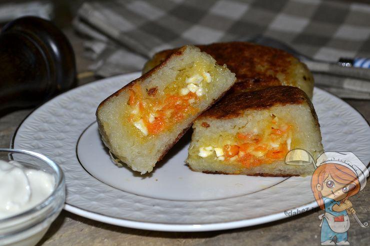 Колдуны из картофеля, пошаговый рецепт