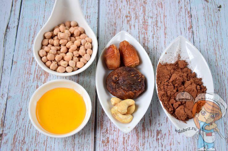 Ингредиенты для веганских конфет