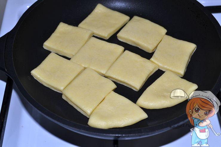 Печенье на сковороде