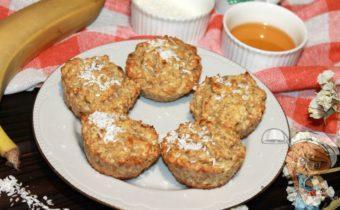 Овсяные кексы пп, рецепт с фото