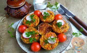 Овощные кексы, рецепт приготовления