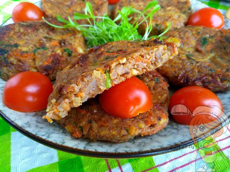 Оладушки из гречки, рецепт с фото