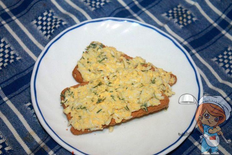 Яичный пасштет, рецепт приготовления с фото
