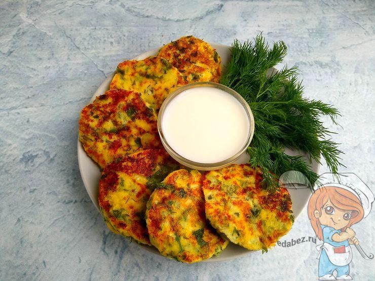соленые сырники с сыром