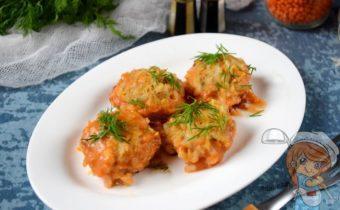 вегетарианские тефтели из чечевицы, рецепт с фото