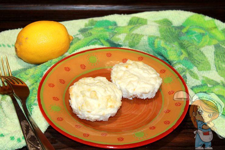 Суфле с творогом и лимоном. рецепт как приготовить в духовке