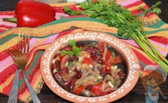 Овощное чили, рецепт с фото