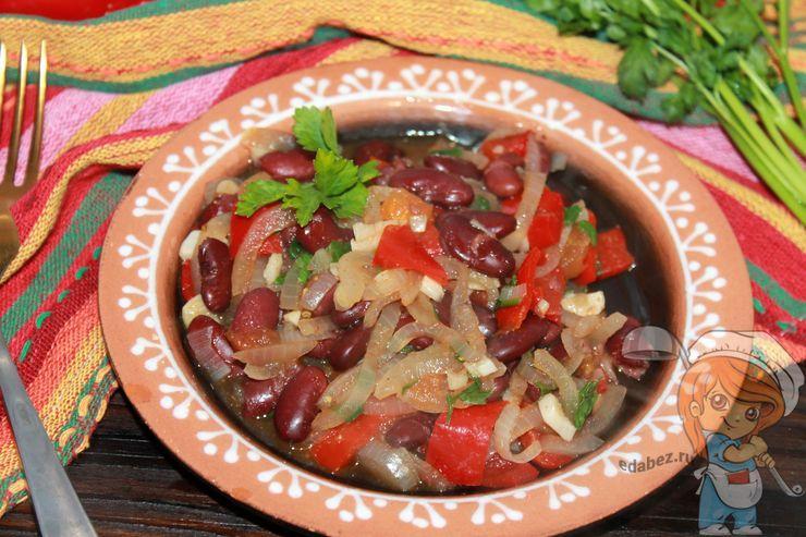 Овощное чили - рецепт с фото