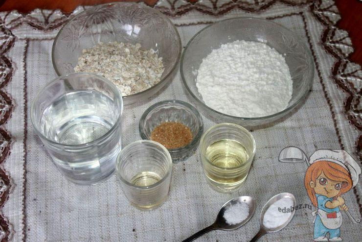 Ингредиенты для веганских блинов