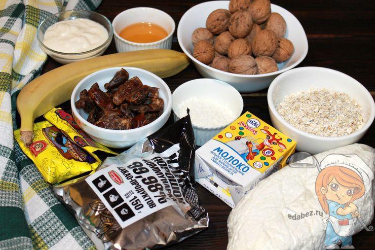 Продукты для торта без выпечки