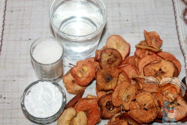 Ингредиенты для компота и киселя
