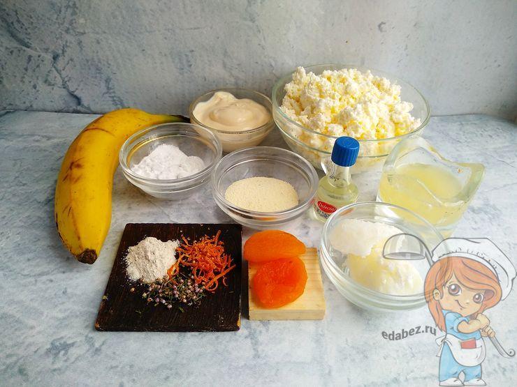 Ингредиенты для пасхи в духовке