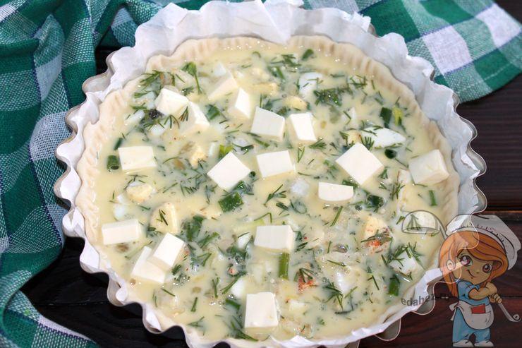 Добавляем плавленный сыр