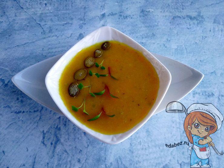 Украшаем картофельный суп без мяса