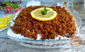 десерт из черного хлеба - рецепт с фото