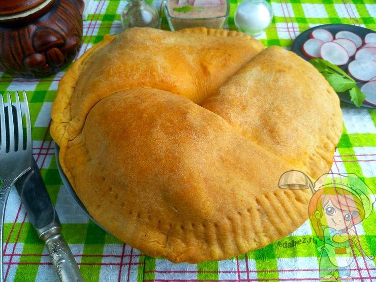 Пп пирог с тремя начинками, пошаговый рецепт