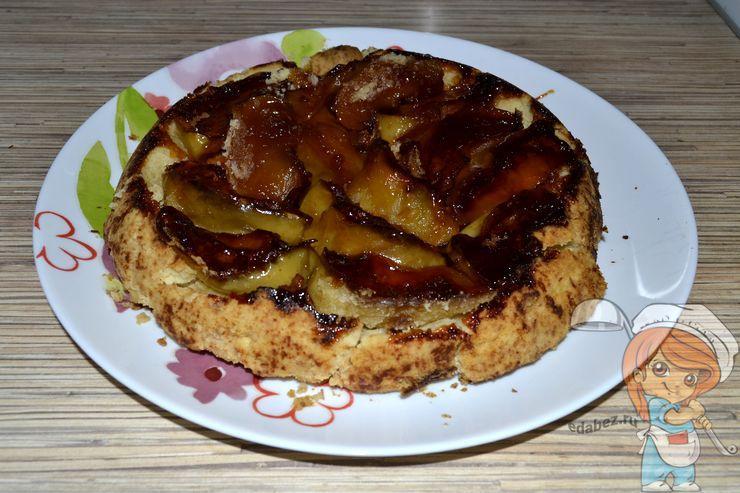 Французский пирог Тарт Татен с яблоками