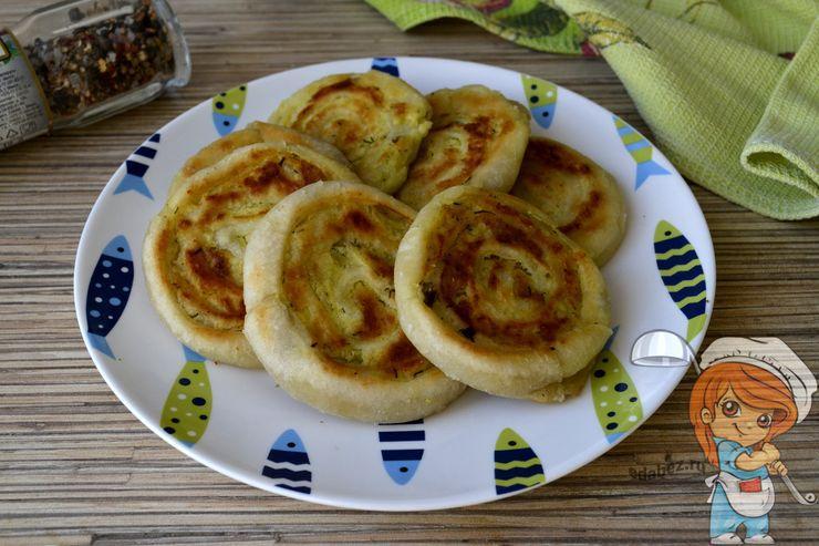 Картофельные рулетики, рецепт с фото